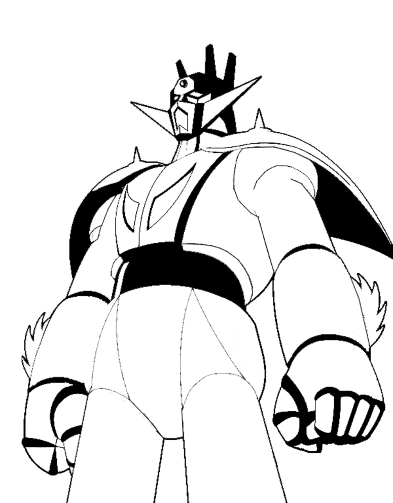 mazinger z coloring pages - photo#20