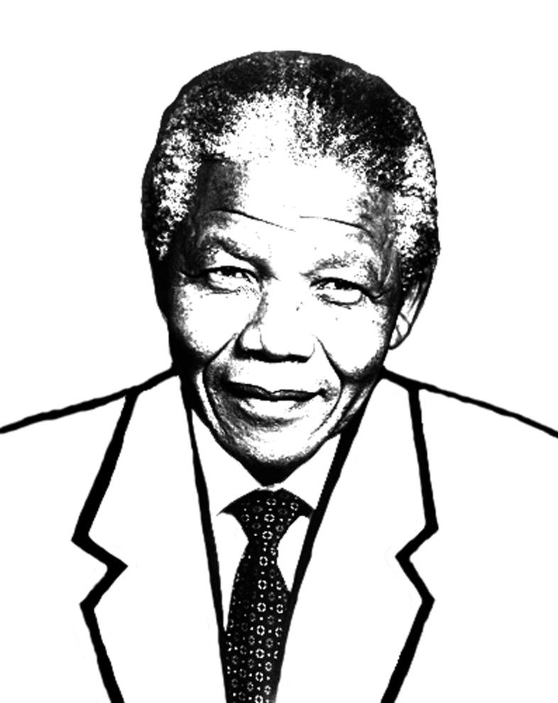 Nelson Mandela Coloring