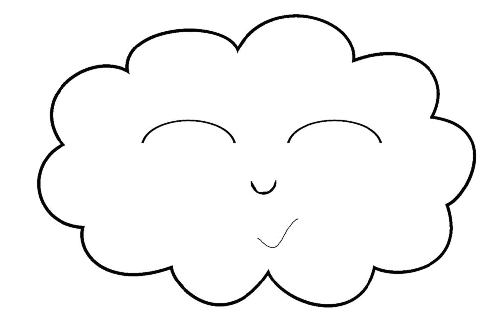 la piccola nuvola tratto da un curioso asinello di a