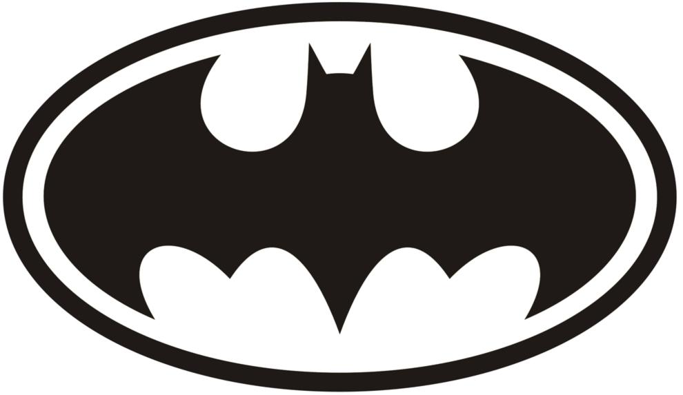 Stampa disegno di simbolo di batman da colorare for Immagini super eroi da colorare