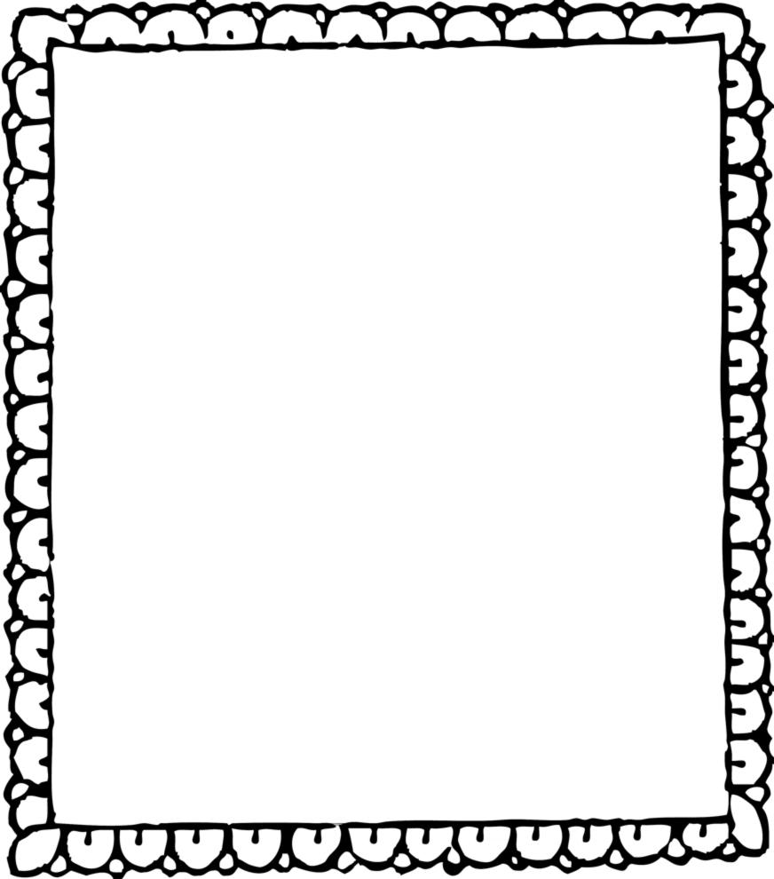 Disegni cornici quadri disegni per bambini da stampare e for Cornici bianche