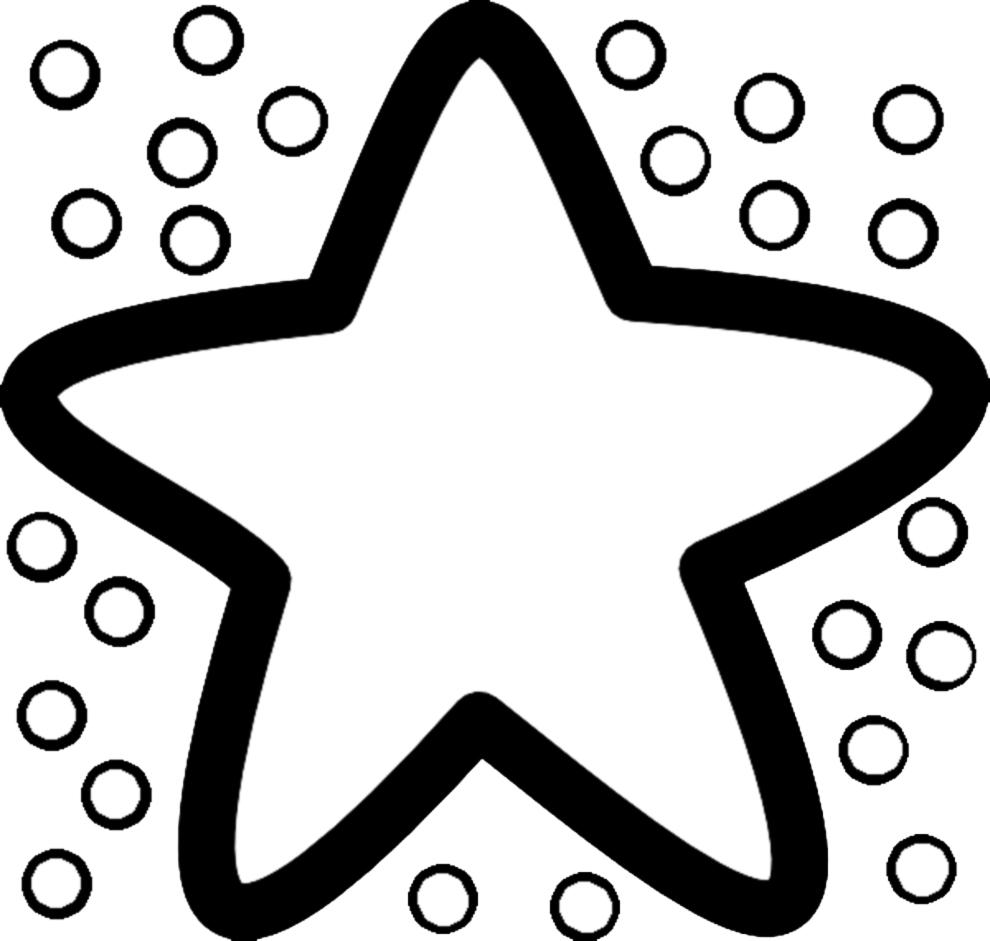 Stampa disegno di stella marina da colorare for Disegni di mare da colorare