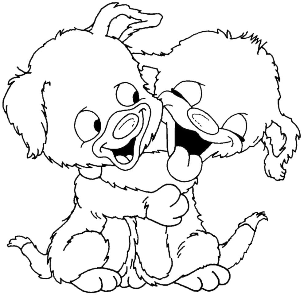 Unico Disegni Da Colorare Cucciolo Di Cane Migliori Pagine Da