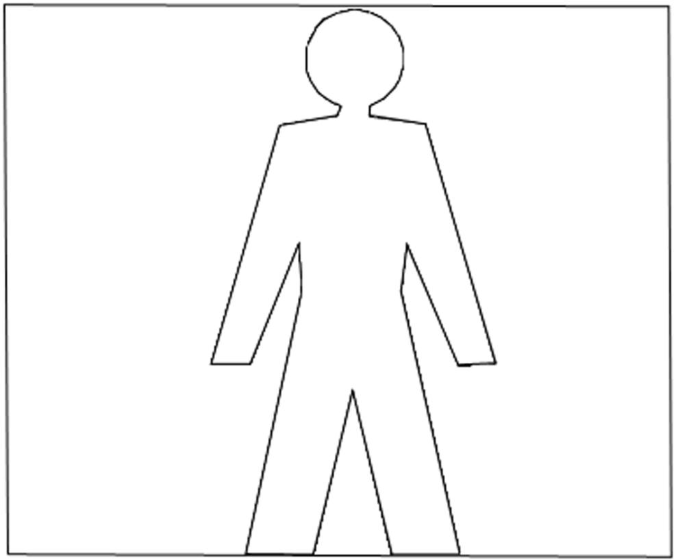 Stampa disegno di wc uomo da colorare - Disegnare bagno gratis ...