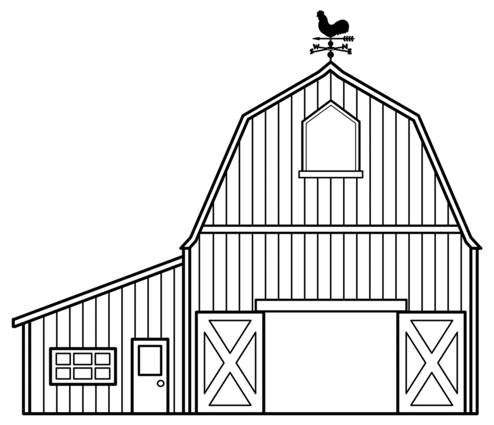 Charlottes Web Barn Colouring Pages