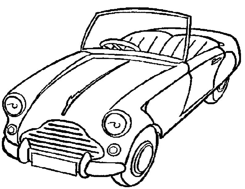 disegni da colorare macchina di topolino