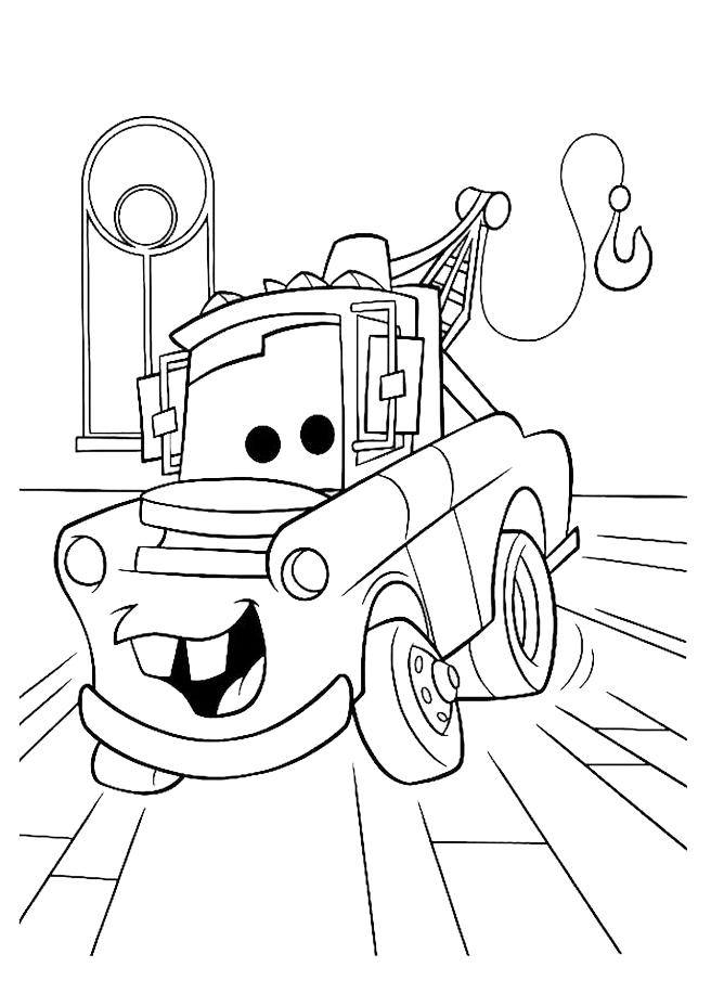 Stampa disegno di cricchetto cars da colorare for Disegno di cars 2 da colorare