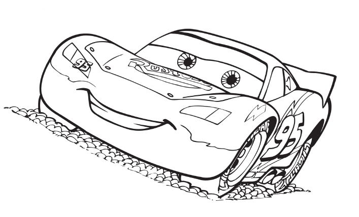 Disegni Da Colorare Cars.Stampa Disegno Di Saetta Mc Queen Cars Da Colorare