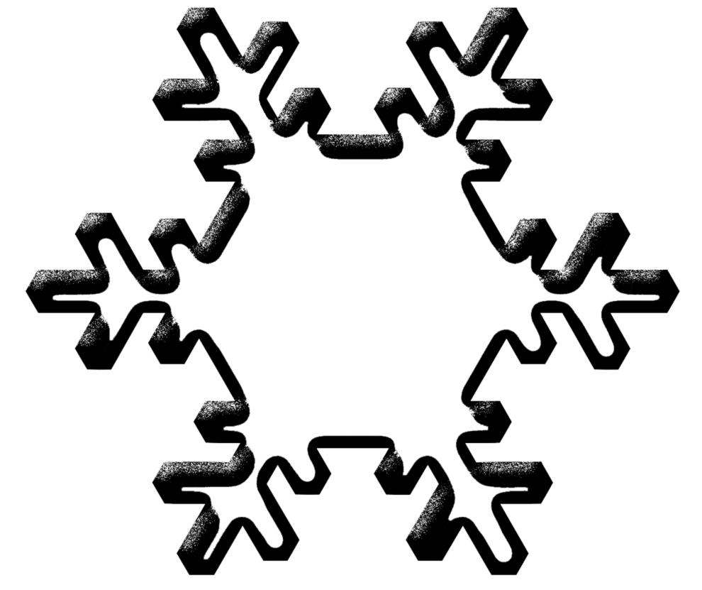 Stampa Disegno Di Neve Da Colorare