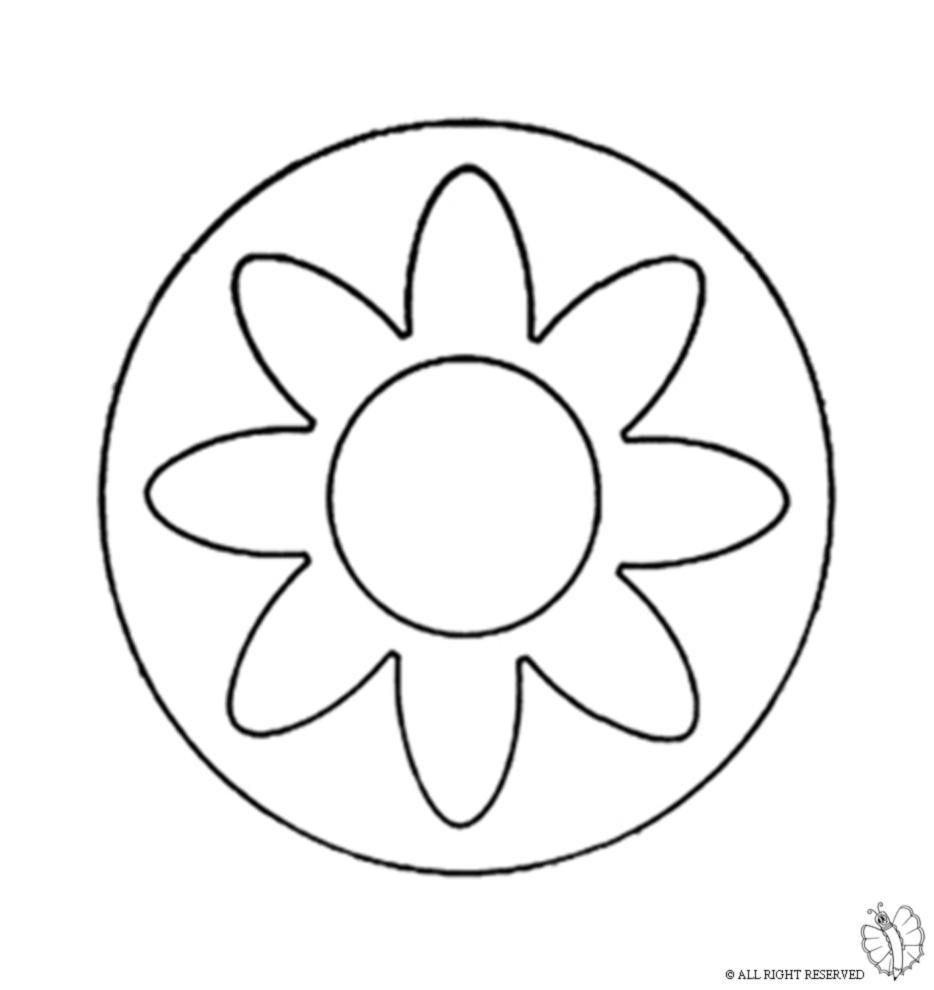 Stampa Disegno Di Mandala 3 Da Colorare