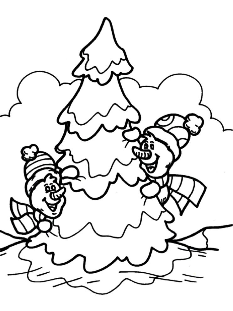 Disegni Di Natale Gratis Da Colorare Per Bambini.Disegni Di Natale Gratis