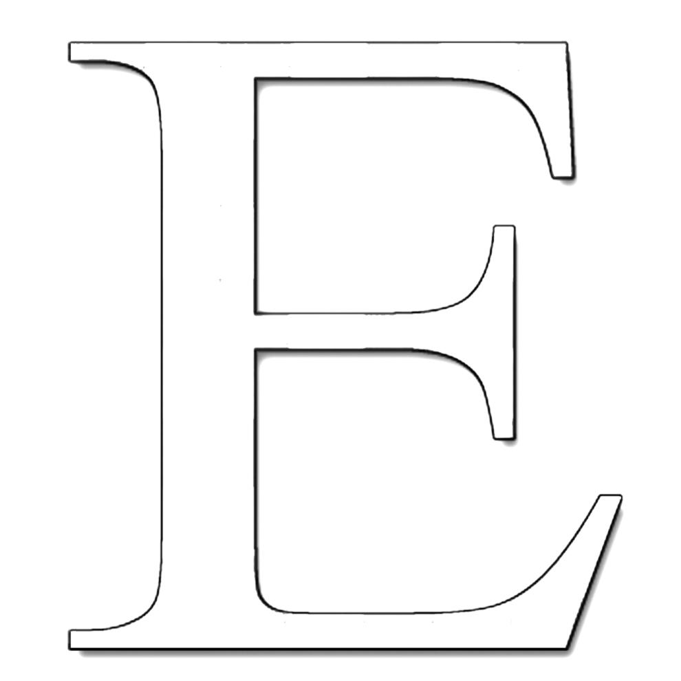 Stampa disegno di lettera e da colorare for Disegni da stampare colorare e ritagliare
