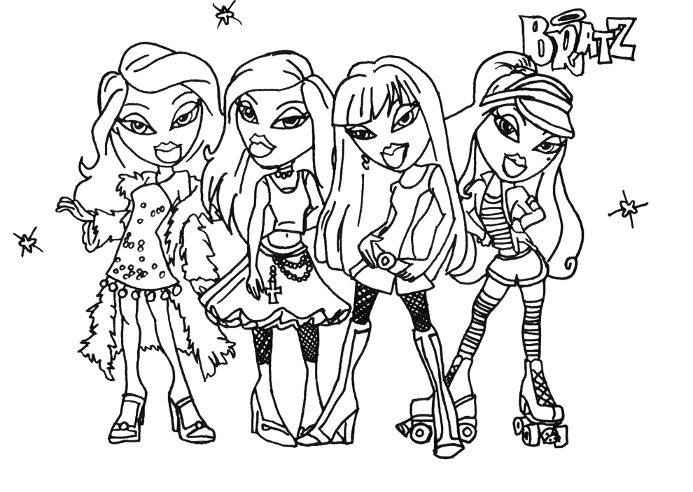 Bratz Bambole Da Colorare on friendship dairy