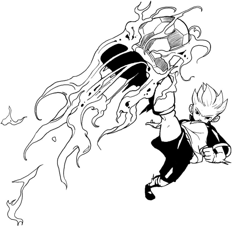 disegno di Inazuma da colorare