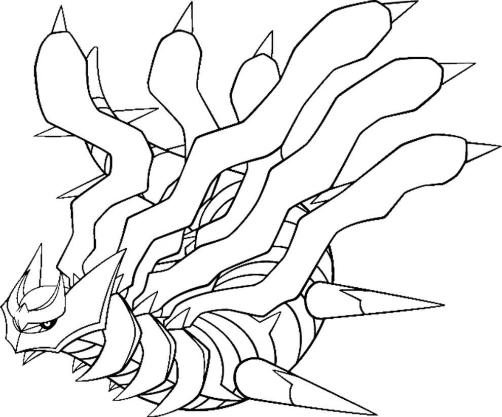legendary coloring pages palkia ] | free legendary coloring pages ...