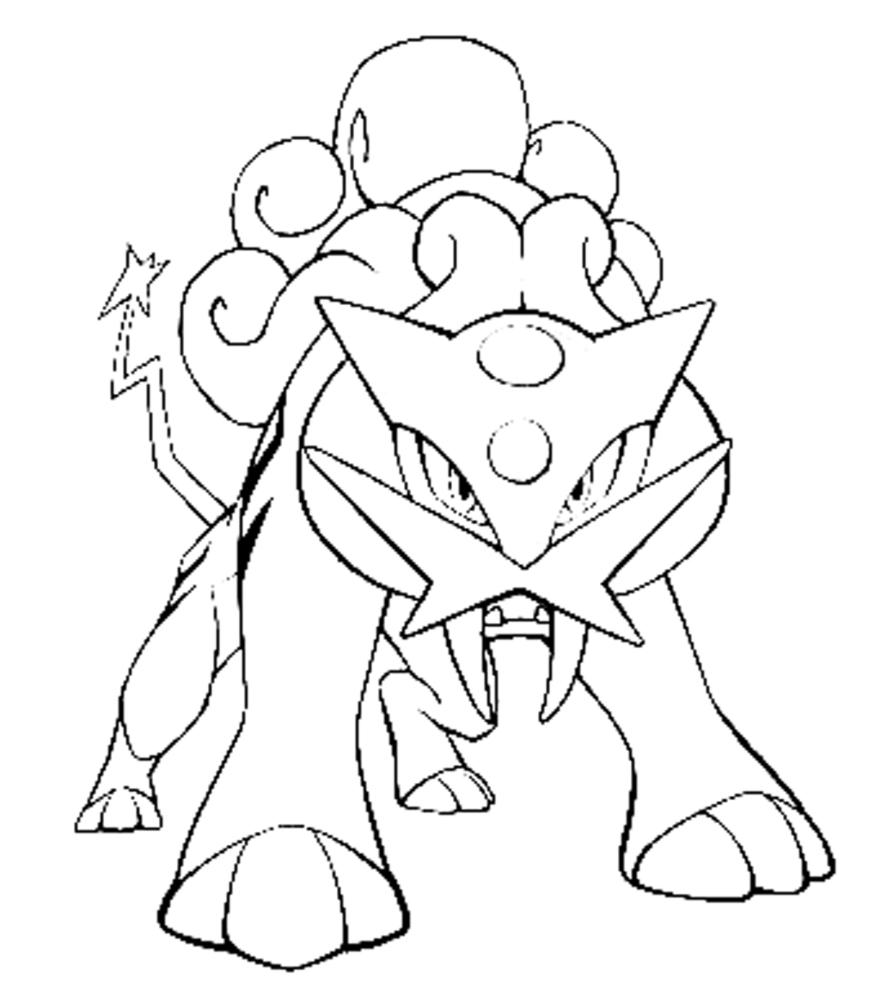Disegno Pokemon Da Colorare
