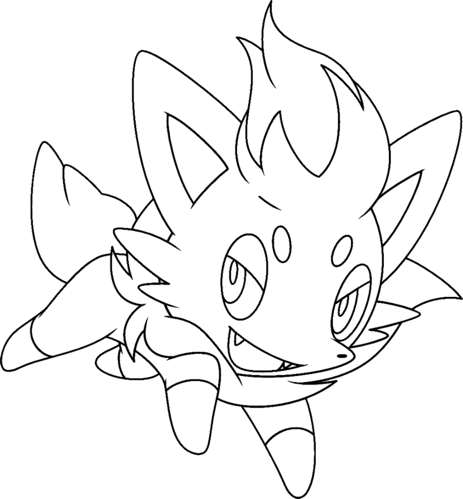 shinx coloring pages - pokemon shinx coloring pages coloring pages