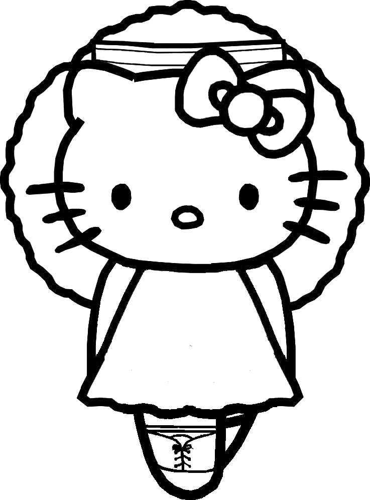 Coloring Pages Hello Kitty Ballerina : Free coloring pages of hellow kitty balerina