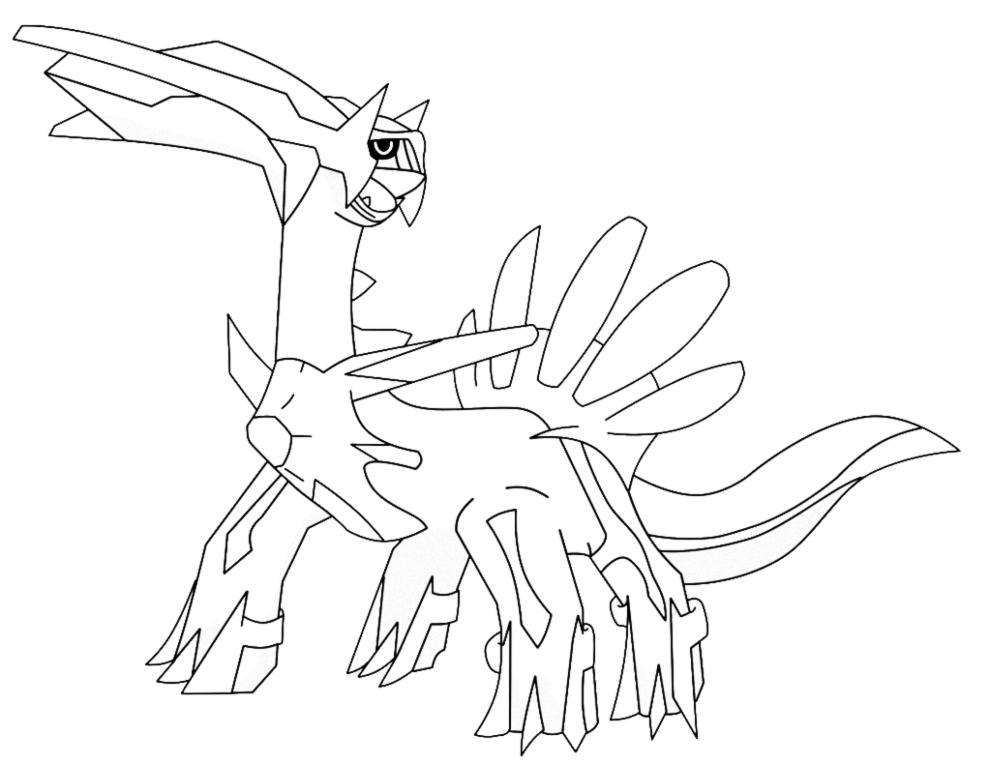 Pin disegni colorare pokemon dialga imagixs images for Stampa disegni da colorare