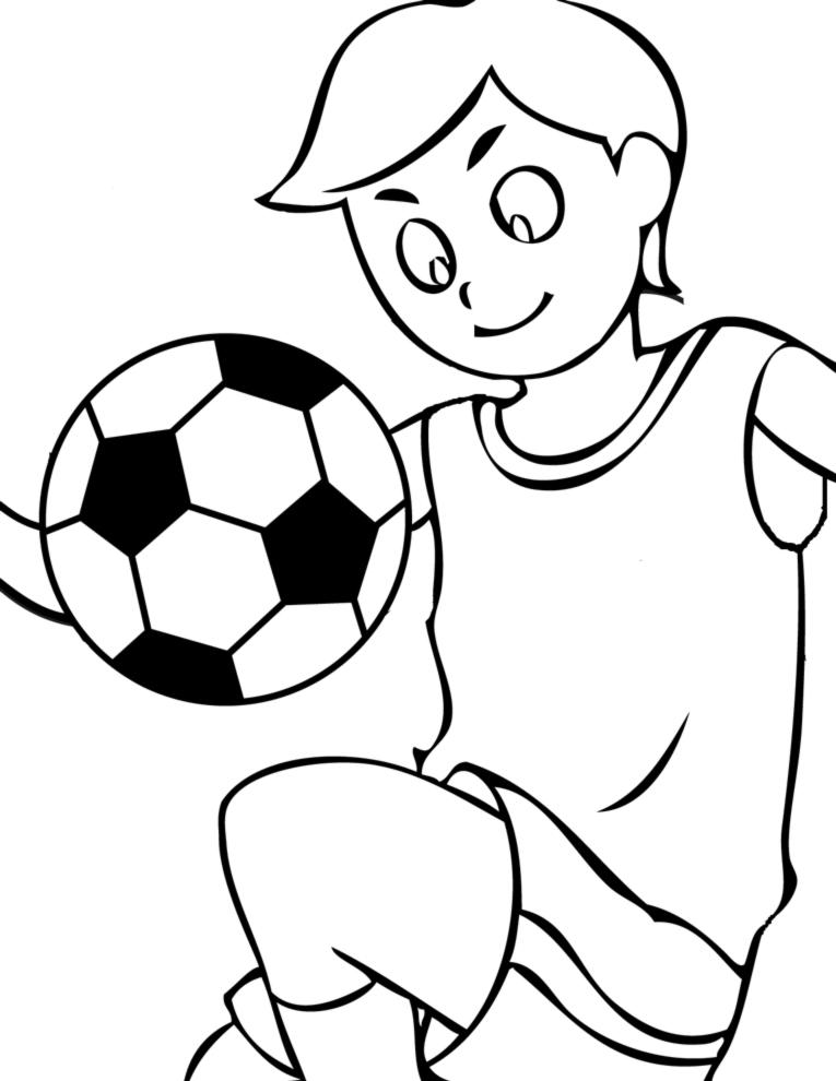 Stampa disegno di palleggi con pallone da colorare - Pagina da colorare di un pallone da calcio ...