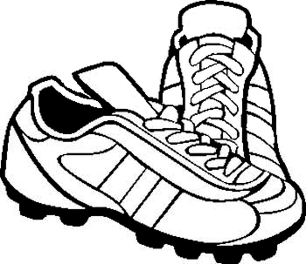 Stampa disegno di scarpette da calcio da colorare for Disegni calciatori da colorare per bambini