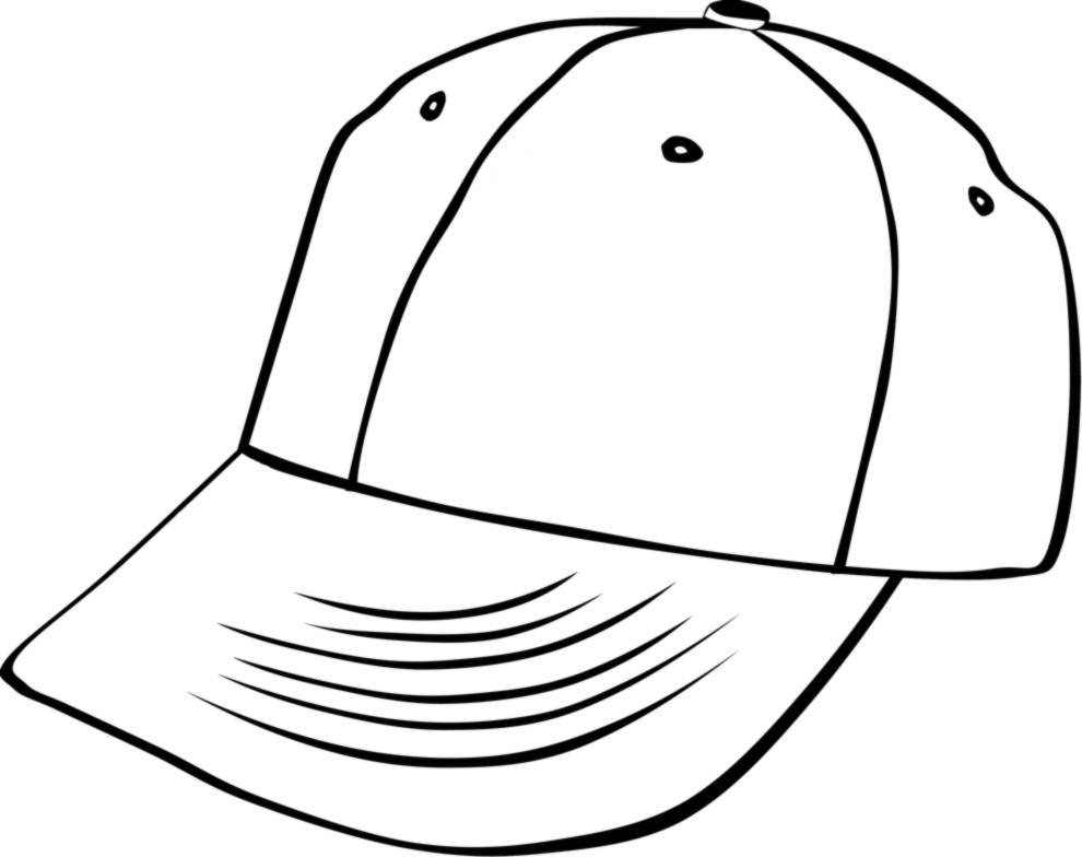 Stampa disegno di berretto da colorare for Cappello disegno da colorare